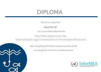certification InforMEA